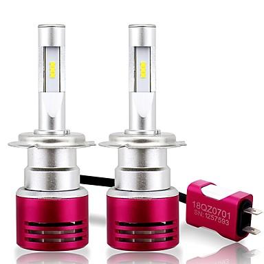 voordelige Autokoplampen-SO.K 2pcs H13 / H16 / 9004 Automatisch Lampen 60 W Geïntegreerde LED 16800 lm 6 LED Koplamp Voor Alle jaren