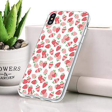 Θήκη Za Apple iPhone XS Protiv prašine / Ultra tanko / Uzorak Stražnja maska Hrana / Voće Mekano TPU za iPhone XS