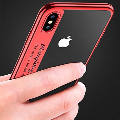 Θήκη Za Apple iPhone XS / iPhone XR / iPhone XS Max Pozlata / Prozirno Stražnja maska Jednobojni Mekano TPU