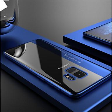 Недорогие Чехлы и кейсы для Galaxy Note-Кейс для Назначение SSamsung Galaxy Note 9 / Note 8 Покрытие / Прозрачный Кейс на заднюю панель Однотонный Мягкий ТПУ