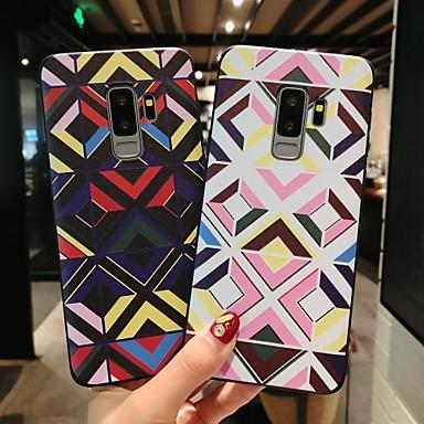 Θήκη Za Samsung Galaxy S9 / S9 Plus / S8 Plus Mutno / Reljefni uzorak / Uzorak Stražnja maska Geometrijski uzorak Mekano TPU