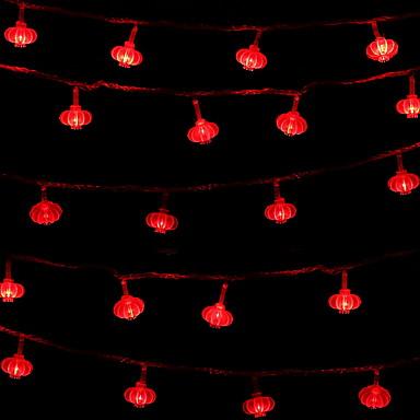 3M Žice sa svjetlima 20 LED diode Crveno Ukrasno 220-240 V 1set