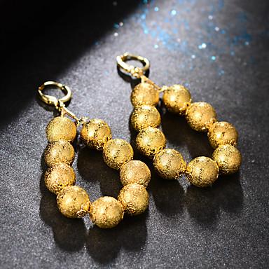 Žene Viseće naušnice Naušnice od škampa Gyöngyök dame Jedinstven dizajn Boemski stil Boho Naušnice Jewelry Bijela Za Vjenčanje Party 1 par