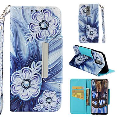 Θήκη Za Huawei P smart / Honor 7C(Enjoy 8) / Huawei Honor 9i Novčanik / Utor za kartice / sa stalkom Korice Cvijet Tvrdo PU koža
