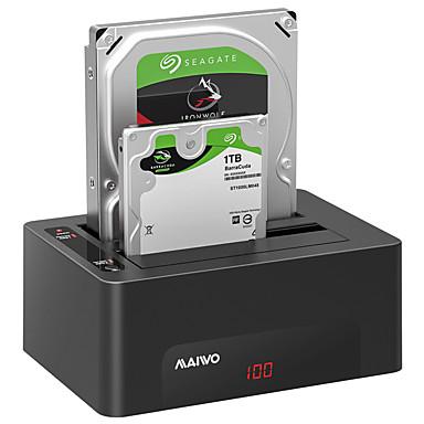MAIWO USB 3.0 do SATA 3.0 Priključna stanica za vanjski tvrdi disk Plug and play / s LED indikatorom 24000 GB K3082A