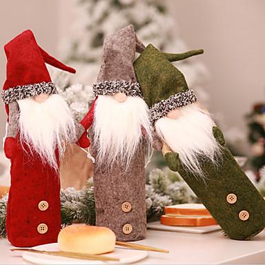 Odmor dekoracije Božićni ukrasi Božić Ukrasno Sive boje / Zelen / Tamno crvena 1pc
