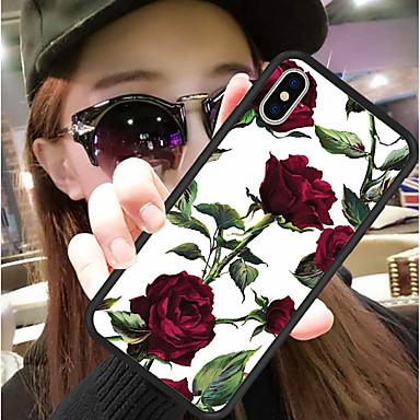 Θήκη Za Apple iPhone XS / iPhone XR / iPhone XS Max Uzorak Stražnja maska Cvijet Tvrdo Silikon / PC