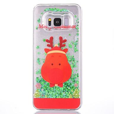 povoljno Maske/futrole za Galaxy S seriju-Θήκη Za Samsung Galaxy S8 Plus / S8 Šljokice Stražnja maska Božić Tvrdo plastika