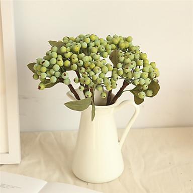 Umjetna Cvijeće 1 Podružnica Klasični Simple Style Pastoral Style Biljke Voće Cvjeće za stol