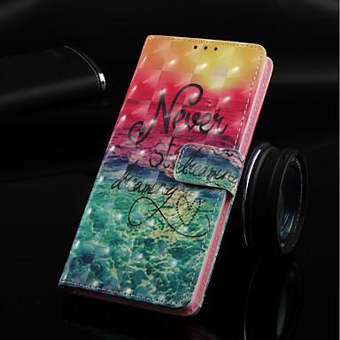 Θήκη Za Huawei Huawei Note 10 / Huawei Honor 10 / Huawei Honor 8X Novčanik / Utor za kartice / sa stalkom Korice Krajolik Tvrdo PU koža