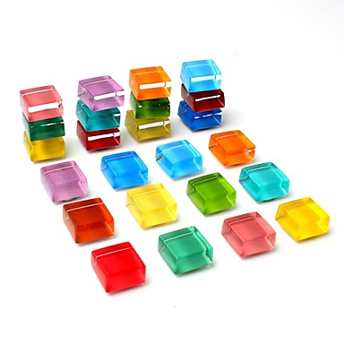 24-pack hladnjak magneti slatka hladnjak magneti kuhinja šarene magneti dekorativni ured magneti zabavno staklo magneti bijela ploča suho brisanje magneti