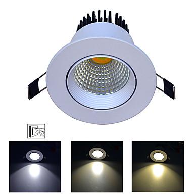 1pc 9 W 720 lm 1 LED zrnca Jednostavna instalacija Trobojni Ugradbena svjetla Promjena 85-265 V Za dom / ured Za dnevnu sobu / blagavaonicu