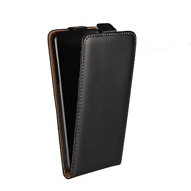 رخيصةأون LG أغطية / كفرات-غطاء من أجل LG LG X Screen / LG Spirit / LG C70 H422 / LG Q6 مع حامل / قلب غطاء كامل للجسم لون سادة قاسي جلد أصلي