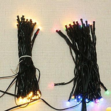 6,8 Žice sa svjetlima 50 LED diode Više boja Ukrasno Napelemes 1set