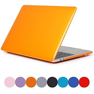 MacBook slučaj za zrak pro retina 11 12 13 15 matirano čvrste boje kristal pvc slučaj laptop poklopac za MacBook novi pro 13,3 15 inčni sa touch bar