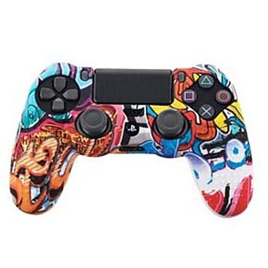 TOYILUYA Kompleti za kontrolu igre Za Sony PS4 ,  Kreativan / Prijelaz boje / smiješno Kompleti za kontrolu igre Silikon 1 pcs jedinica