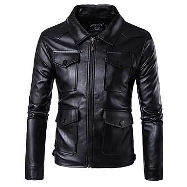 AOWOFS D079 Odjeća za motocikle Zakó za Muškarci PU koža Proljeće & Jesen / Zima Otporne na nošenje / Protection