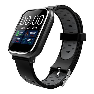 Indear Q58 Muškarci Smart Narukvica Android iOS Bluetooth Sportske Vodootporno Heart Rate Monitor Mjerenje krvnog tlaka Ekran na dodir Brojač koraka Podsjetnik za pozive Mjerač aktivnosti Mjerač sna