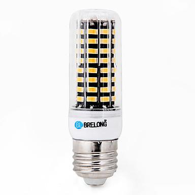abordables LED e Iluminación-1pc 15 W Bombillas LED de Mazorca 1200-1500 lm E26 / E27 T 80 Cuentas LED SMD 5733 Decorativa Blanco Cálido Blanco Fresco 220-240 V / 1 pieza / Cañas