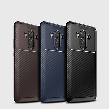 voordelige Huawei Mate hoesjes / covers-hoesje Voor Huawei Mate 10 / Mate 10 pro / Mate 10 lite Mat Achterkant Effen Zacht TPU
