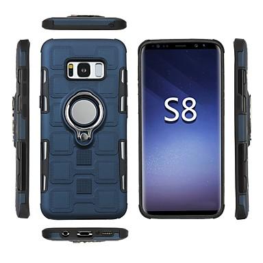 Θήκη Za Samsung Galaxy S8 Plus / S8 Otporno na trešnju / Prsten držač Stražnja maska Oklop Mekano TPU