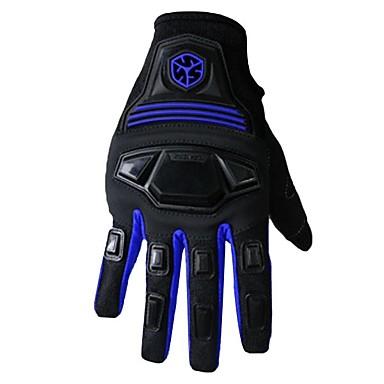 Cijeli prst Sve Moto rukavice Carbon Fiber / Spandex Lycra / Tkanina mrežice Prozračnost / Ne skliznuti