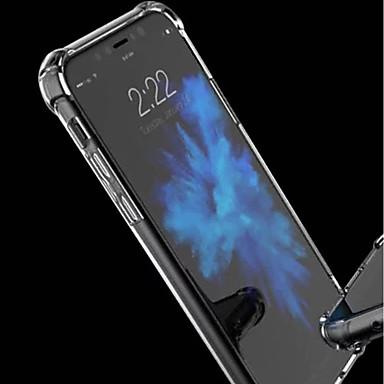 Θήκη Za Apple iPhone XS / iPhone XR / iPhone XS Max Otporno na trešnju / Prozirno Stražnja maska Jednobojni Mekano Opeka