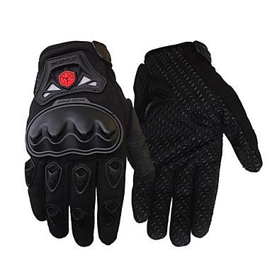 Cijeli prst Sve Moto rukavice Carbon Fiber / Basketwork Otporno na nošenje / Ne skliznuti