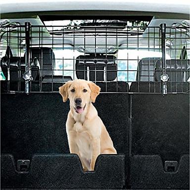 Psi Zaštitni ekran Kavezi Auto presvlake sjedala Ljubimci Prijevoznici Prilagodljivo Putovanje Sklapanje Jednobojni Crn