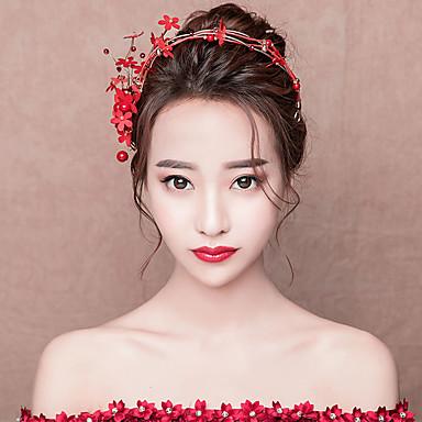 6250f6c79d2f9 العروس كلاسيكي تقليدي استايل صيني أغطية الرأس مخالب الشعر من أجل مباركة عروس  حفلة الزفاف نسائي للفتيات مجوهرات   ورد 7013167 2019 – €44.39
