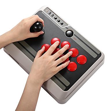 olcso Okostelefon-játék tartozékok-8bitdo nes30 testreszabható bluetooth arcade stick gamepad támogatás ios android pc mac linux