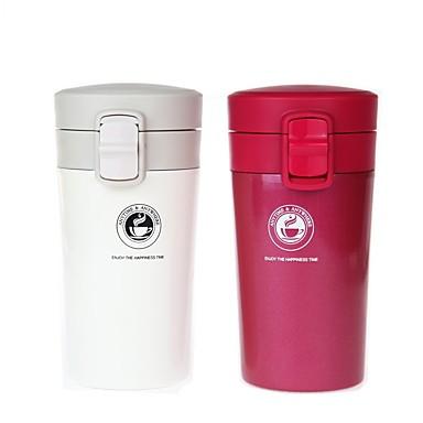 Drinkware Vakuum kup Čelik + plastika / Tikovina / PP + ABS Prijenosno / zadržavanja topline Ured / Karijera / Poslovanje