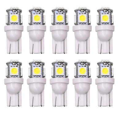SO.K 10pcs T10 سيارة لمبات الضوء 5 W 160 lm LED أضواء الداخلية