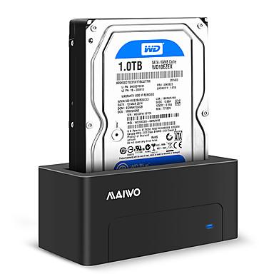 MAIWO USB 3.0 do SATA 3.0 Priključna stanica za vanjski tvrdi disk Plug and play / s LED indikatorom 8000 GB K308C