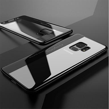 Θήκη Za Samsung Galaxy S9 / S9 Plus / S8 Plus Pozlata / Prozirno Stražnja maska Jednobojni Mekano TPU