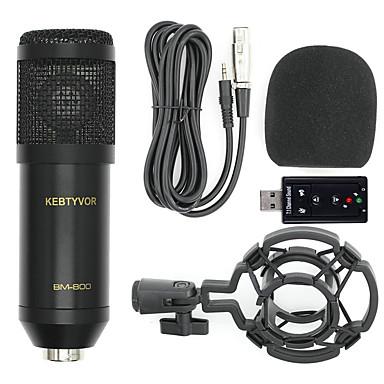 olcso Mikrofonok-BM-8004 Vezetékes Mikrofon Kondenzátormikrofon Kézi mikrofon Kompatibilitás PC
