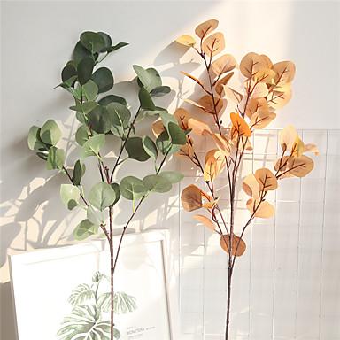 زهور اصطناعية 1 فرع كلاسيكي تقليدي أسلوب بسيط نباتات أزهار الطاولة