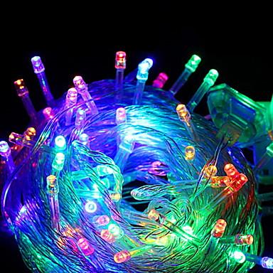 10m Žice sa svjetlima 100 LED diode Više boja Ukrasno 220-240 V 1set