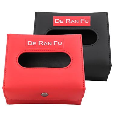 Oganizeri za auto Kutija maramica Koža Za Univerzális Sve godine Svi modeli