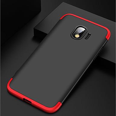 رخيصةأون حافظات / جرابات هواتف جالكسي J-غطاء من أجل Samsung Galaxy J2 Pro ضد الصدمات / مثلج غطاء خلفي لون سادة قاسي الكمبيوتر الشخصي