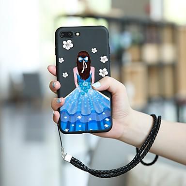 Θήκη Za Apple iPhone XS / iPhone XR / iPhone XS Max Uzorak Stražnja maska Seksi dama Mekano TPU