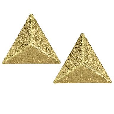 Žene Sitne naušnice 3D dame Osnovni Moda Naušnice Jewelry Zlato Za Dnevno Spoj 1 par