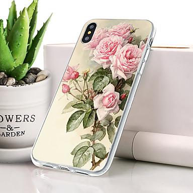 Θήκη Za Apple iPhone XR Protiv prašine / Ultra tanko / Uzorak Stražnja maska Cvijet Mekano TPU