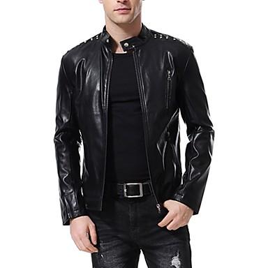 AOWOFS B007 Odjeća za motocikle Zakó za Muškarci PU koža Proljeće & Jesen / Zima Otporne na nošenje / Protection