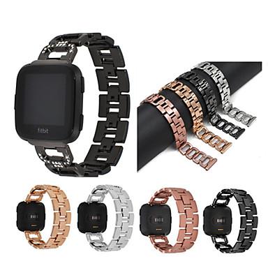 Pogledajte Band za Fitbit Versa Fitbit Sportski remen / Dizajn nakita Nehrđajući čelik Traka za ruku