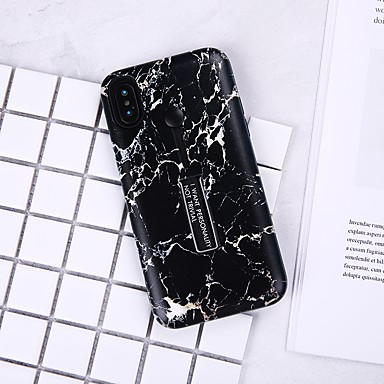 Θήκη Za Apple iPhone X / iPhone 8 Plus / iPhone 8 Uzorak Stražnja maska Mramor Mekano TPU