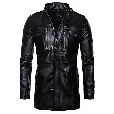AOWOFS B036 Odjeća za motocikle Zakó za Muškarci PU koža Proljeće & Jesen / Zima Otporne na nošenje / Protection