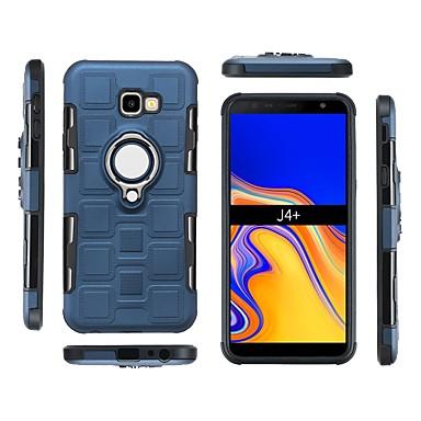 Θήκη Za Samsung Galaxy J7 (2017) / J6 (2018) / J6 Plus Otporno na trešnju / Prsten držač Stražnja maska Jednobojni Mekano PC
