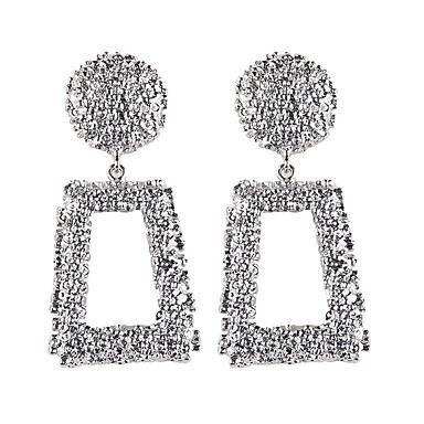 Žene Viseće naušnice Geometrijski dame Mértani Europska Moda Naušnice Jewelry Zlato / Srebro Za Party Kauzalni 1 par