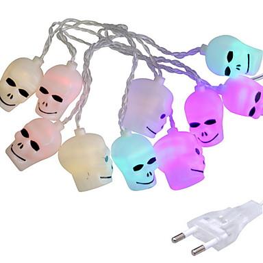2.5m Žice sa svjetlima 10 LED diode Više boja Ukrasno 220-240 V 1set